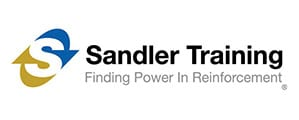 Sandler Training logo: finding power in reinforcement