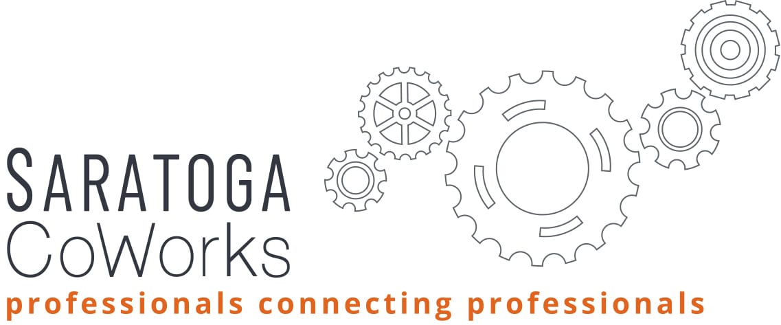 Saratoga CoWorks logo professionals connecting professionals